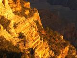 grandcanyon cliff at sunrise poster