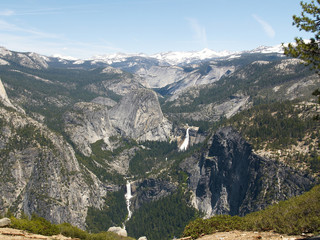 yosemite: nevada & vernal falls