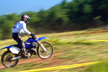 motocross panning