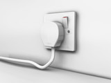 plug in socket poster