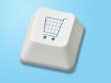 e-commerce button poster