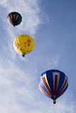 hot air balloon series 14 poster