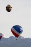hot air balloon series 15 poster
