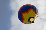 hot air balloon series 19 poster