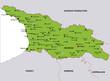 map georgia landkarte georgien