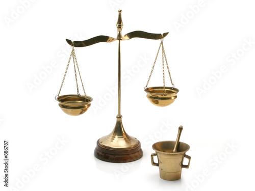 Leinwandbild Motiv symbolic alchemist tools