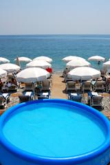 piscine de plage
