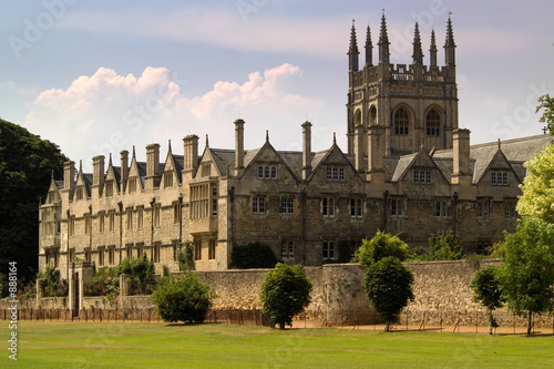 oxford university college buildings