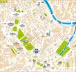 map vienna city landkarte wien innenstadt