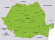 map romania landkarte rumänien