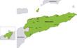 map timor leste landkarte osttimor
