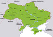 map ukraine landkarte ukraine