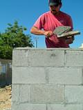 mason,brick poster