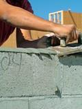 mason, brick, poster