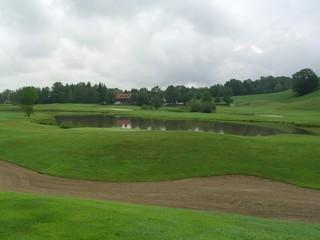 lake on the golfcourse