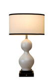 curved lamp poster