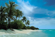 canvas print picture deserted island