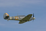 1941 hawker sea hurricane in flight