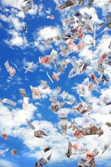 sky full of money