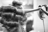hair curler poster