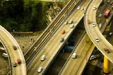 highway overpass poster