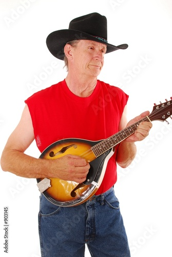 poster of old time country musician five