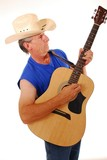 old time country musician 9 poster