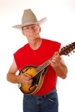 old time country musician 13 poster