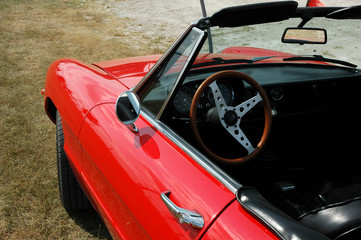 red convertible 2