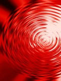 blood-red ripples poster