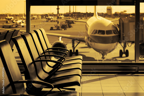 Foto op Canvas Luchthaven airport11