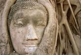 head of buddha poster