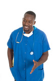 male doctor or nurse 1 poster