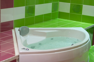green jacuzzi