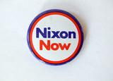 nixon wahlen badge vietnam krieg poster