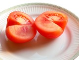 tomato cut in halves poster