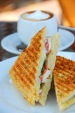 grilled sandwich poster