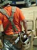 construction worker, 458 poster