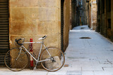 bicycle in barcelona poster