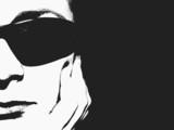 spy girl - half face poster