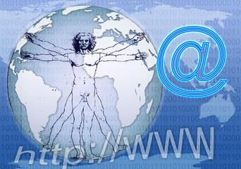 vitruvian man and globalization