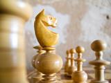 schach figur poster