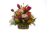 exotic flowers arrangment -4 poster