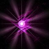 violet star poster