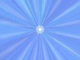 soft blue background . star poster