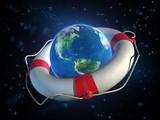 saving planet earth poster
