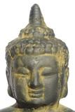 schöner, antiker kopf von buddha, freigestellt poster