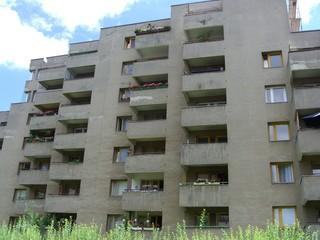 sozialbau - plattenbauten