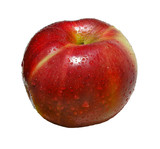 big rape red apple - tasty fruit poster