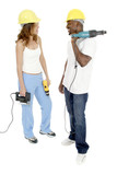tool girl and guy 4 poster